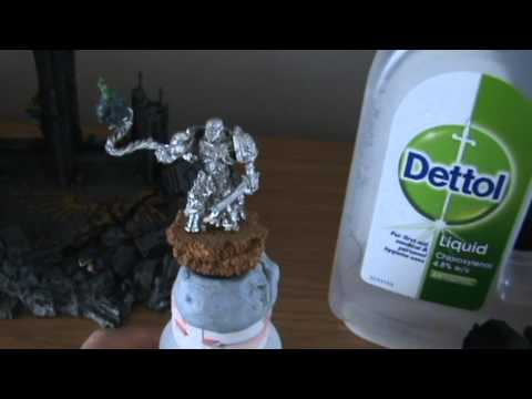 how to strip paint with dettol