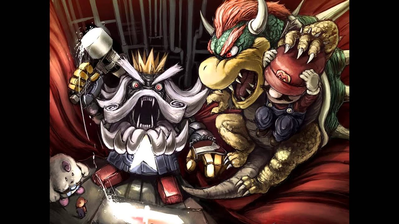 Mario Rpg Wallpaper Super Mario Rpg Battle With