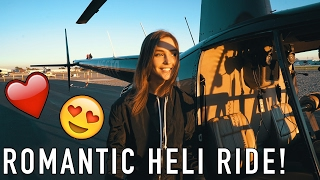 OUR ROMANTIC HELICOPTER DATE! WE HAVE BAD NEWS :(