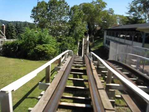 Jack Rabbit Front Seat on-ride POV Kennywood