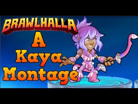 NEW LEGEND KAYA: Brawlhalla | A Kaya Montage