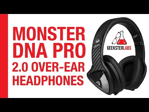 Monster DNA Pro 2.0 Over-Ear Headphones Review
