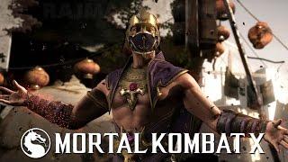 Mortal Kombat X - Rain Gameplay [1080p] TRUE-HD QUALITY