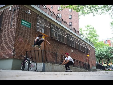 An afternoon in New York City with the Volcom Skate Team