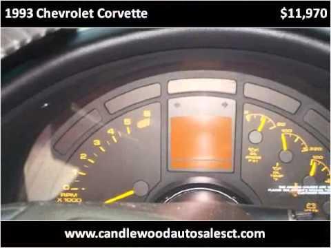 1993 Chevrolet Corvette Used Cars Danbury CT