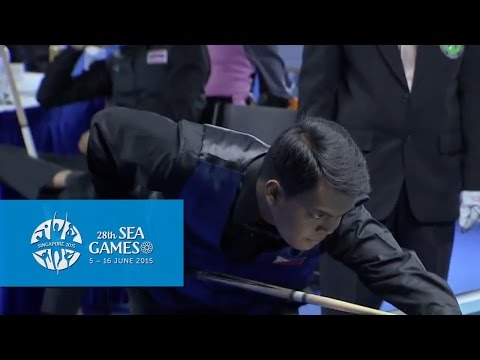 Billiards -  Philippines vs Laos (Day 1) | 28th SEA Games Singapore 2015