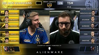 GGS vs TSM - 2019 LCS Spring Split Week 8 Day 1 - Team SoloMid vs Golden Guardians