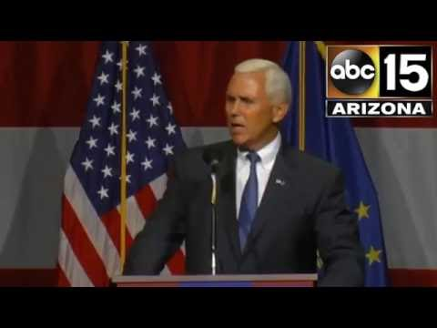 FULL: Who is Governor Mike Pence? Watch him speak before Trump at their Indiana rally - Trump's VP