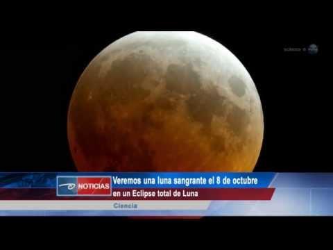 Luna sangrienta el 8 de octubre y lluvia de estrellas Dracónidas