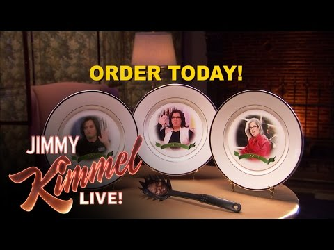 Rosie O'Donnell Commemorative Plates