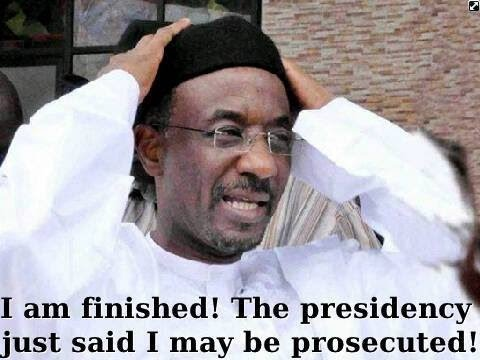 Sanusi Lamido CBN Gov Fired, He Is incompetent - Jonathan