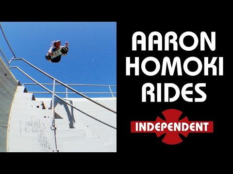 "Aaron ""JAWS"" Homoki Rides... Independent Trucks"