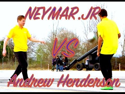 Neymar JR VS Andrew Henderson - INSANE FOOTBALL SKILLS
