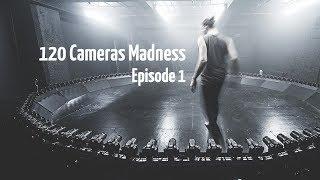 120 CAMERAS MADNESS EPISODE #1 - Calibration and 3 strobes