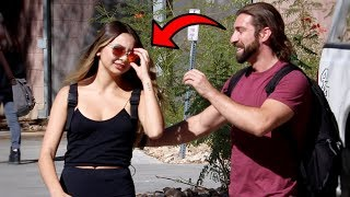 STEALING GUYS SUNGLASSES PRANK!!