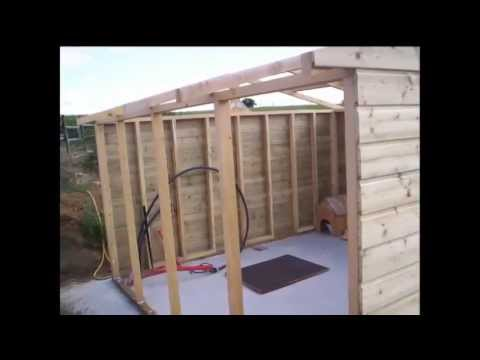 abri jardin limousin abri de jardin limousin youtube. Black Bedroom Furniture Sets. Home Design Ideas