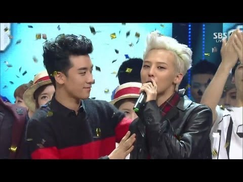 G-dragon 0915 sbs Inkigayo 삐딱하게 (crooked) + No.1 Of The Week video