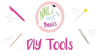 Nail Art Basics DIY Dotting Tools Ep 4 | 25 Sweetpeas