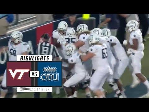 No. 13 Virginia Tech vs Old Dominion Football Highlights (2018)   Stadium