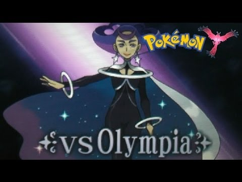 Pokemon X And Y - 3DS XL - Anistar City - Seventh Gym - Olympia - Psychic Badge