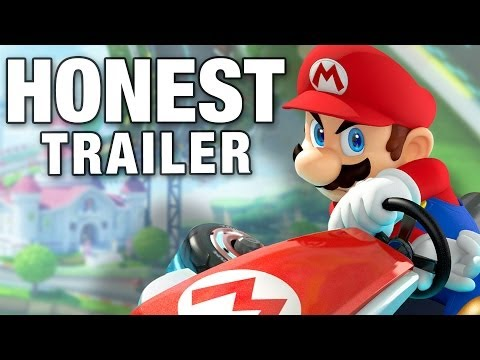 Mario Kart (honest Game Trailers) video