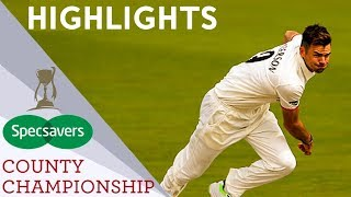 Hameed Hits First Century In 3 Years   Middlesex vs Lancs   Specsavers County Championship 2019