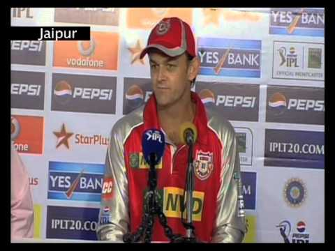 Kings XI Punjab post match press conference