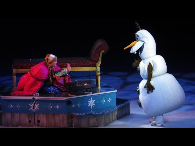 """Disney on Ice Presents Frozen - Hans Betrays Anna, Olaf Says """"Some People Are Worth Melting For"""""""