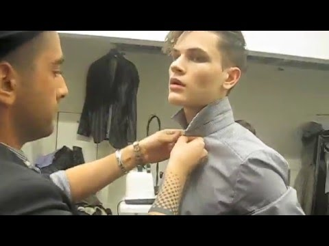 Backstage at Frankie Morello with Michael Whittaker, Yuri Pleskun, Cole Mohr and Simon Nessman Video