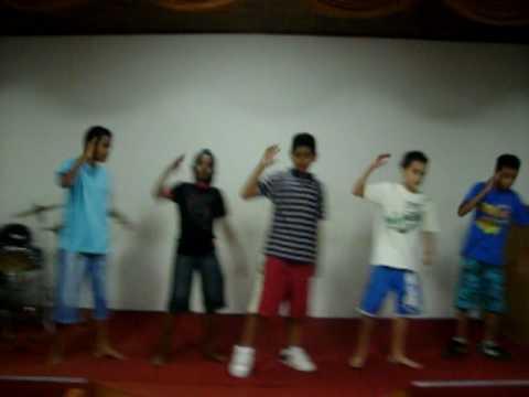 grupo shalon - coreografia rap gospel