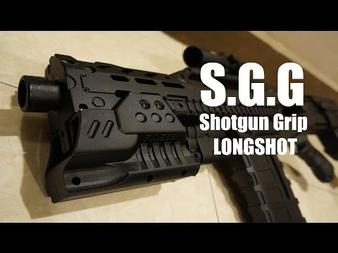 Nerf Longshot Shotgun Grip Review