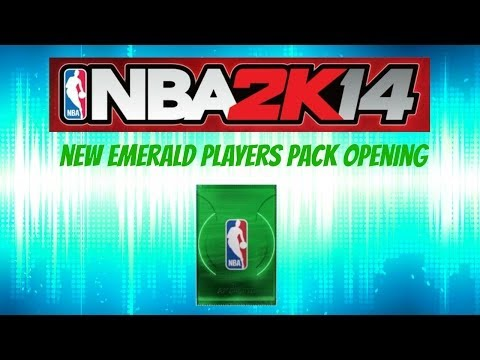 NBA 2K14 MyTEAM - NEW EMERALD PLAYERS PACK OPENING - What Players Have