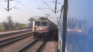 TRIVANDRUM RAJDHANI CRUSHES MAHARASHTRA SAMPARK KRANTI