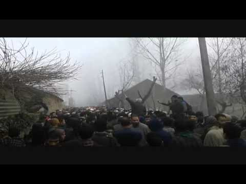 Thousands attend funeral of slain militant in Sopore