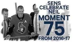 No. 75/100: Senators honour Chris Neil for playing 1000th game