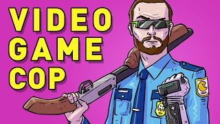 VIDEO GAME COP - H1Z1 King of the Kill Funny Online Multiplayer Gameplay Moments