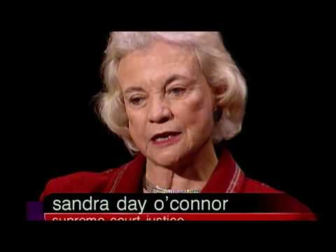 Sandra Day O'Connor interview (2002)
