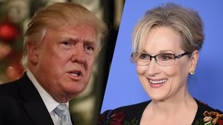 Trump Vs Meryl Streep   CNN Discusses The Serious Issues!