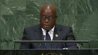 🇬🇭 Ghana - President Addresses General Debate, 73rd Session