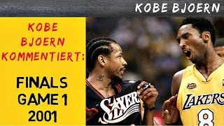 Kobe Bjoern kommentiert: NBA Finals Game 1 (2001) Lakers vs 76ers - Iversons legendäre Performance