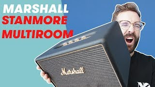 Marshall Stanmore Multiroom - 80W RMS que DESPEINAN