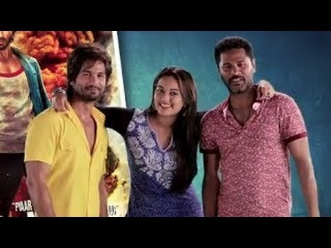 Join Shahid, Sonakshi & Prabhu Dheva On A G+ Hangout For R...Rajkumar