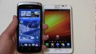 HTC One S vs. Samsung Galaxy Note Dogfight Part 2