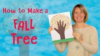 Make a Fall Tree | Fun DIY Kids Art Project