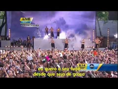 Lady GaGa - Bad Romance LIVE no Good Morning America [ LEGENDADO PT-BR ]