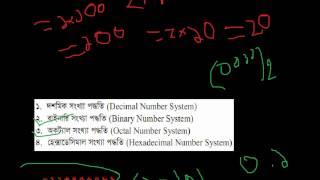 3.1 Number System সংখ্যা পদ্ধতি
