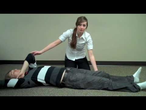 First aid - How to put someone in the recovery position