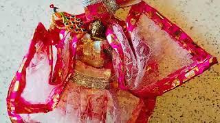 My hand making designer dresses banke bihari n laddu gopal special order starting minimum rate 500..