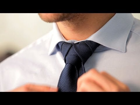 How to Tie a Merovingian Knot | Men s Fashion