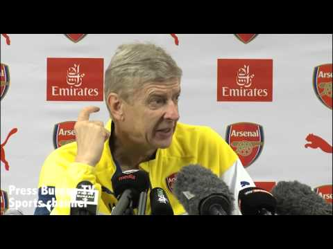 Arsene Wenger pre Sunderland vs Arsenal